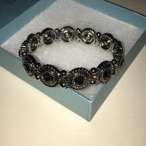 Swarovski Black Diamond Crystal Bracelet